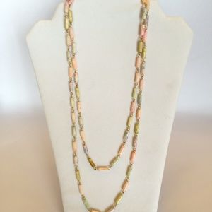 Fun Colorful Vintage Statement Necklace
